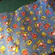 Thomas the Train flannel fabric- 4.5 meters