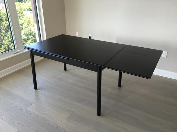 Portage extendable dining table by GUS Modern