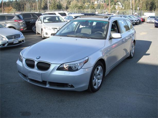 2007 Bmw 530i X1 Sport Wagon 530xit Outside Okanagan Okanagan