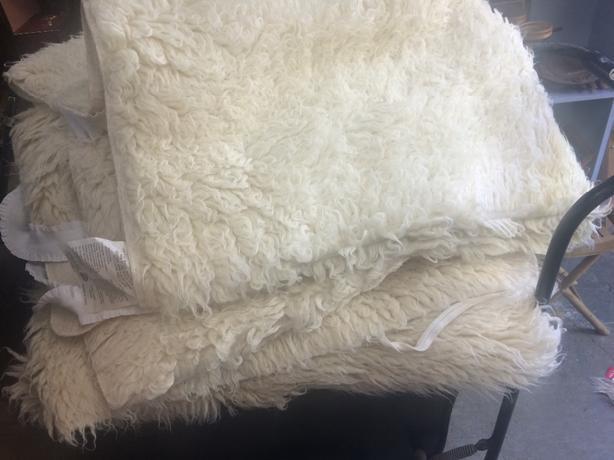 wool mattaures cover
