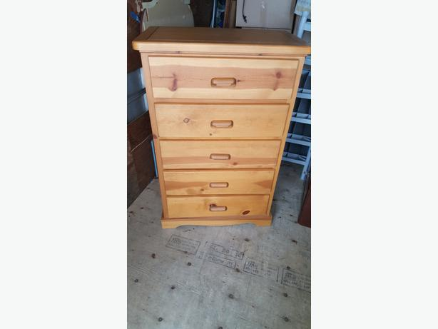 Pine Tall Chest