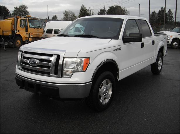 2010 Ford F-150 Crew Cab 5.5-ft. Short Box 4WD
