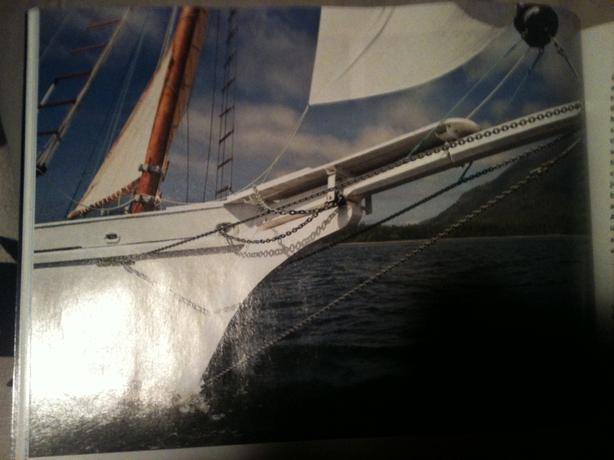 40 foot gaff sloop launched 2010