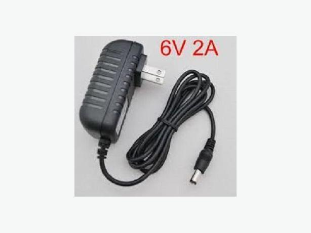 6V 2A 12W AC to DC Wall Charger Adapter 5.5mmx2.1mm tip size