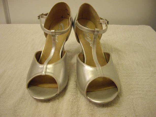Capezio Silver Ballroom Shoes