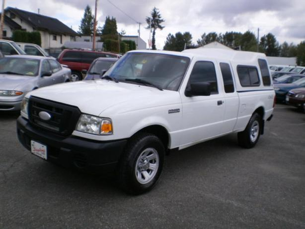 2008 Ford Ranger, canopy, extended cab, 4x4