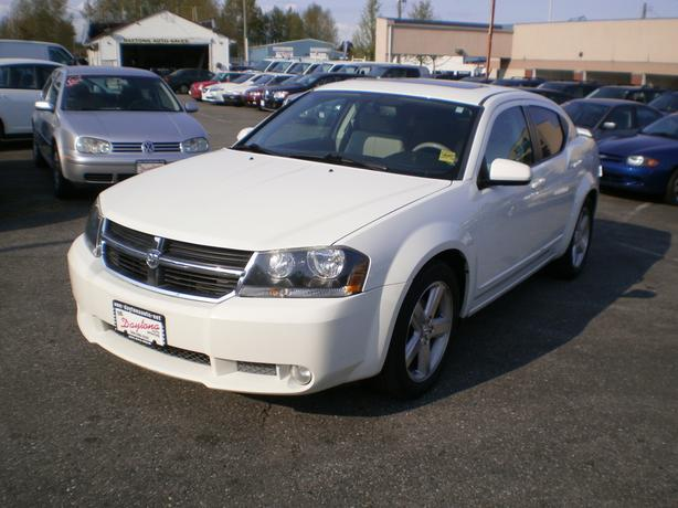2008 Dodge Avenger RT, no accidents, leather, sunroof,