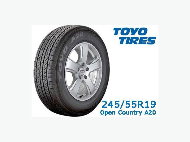 245/55R19 ~ Toyo