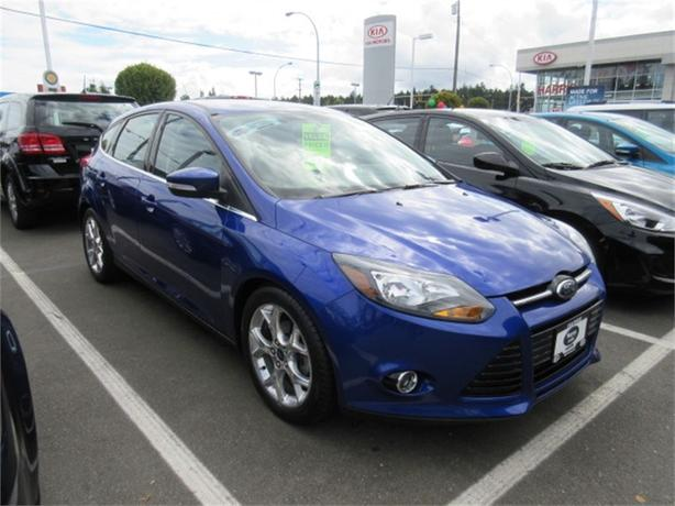 2014 Ford Focus Titanium Leather Low Kms Warranty