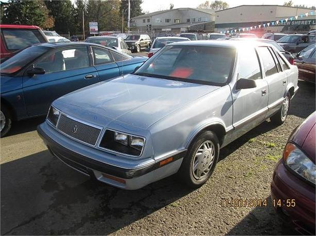 1988 Chrysler Le Baron GTS