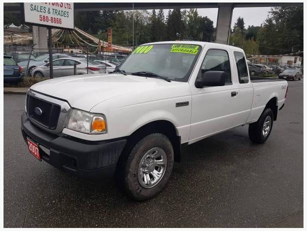2007 Ford Ranger 4X4, 4 door Extended Cab