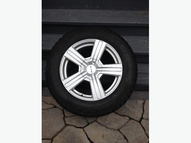 4 Cooper Snow Tires/Rims Cadillac SRX 2010+
