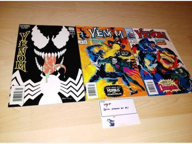 1994 Venom The Enemy Within Complete Set #1-3