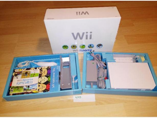 Nintendo Wii System Sports Package - Complete In Box