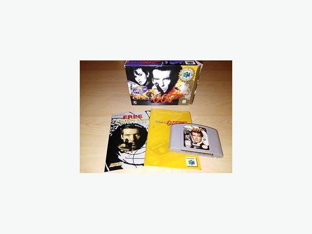 Goldeneye 007 For The Nintendo 64 Complete In Box