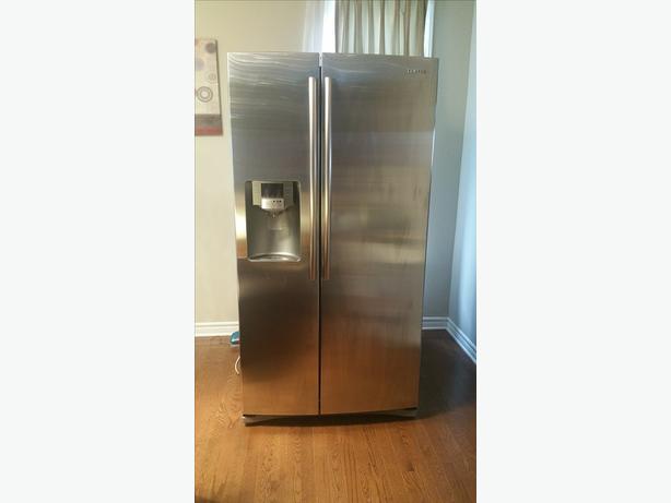 Samsung RS265TDRS 25.5 cu. ft. Side-by-Side Refrigerator