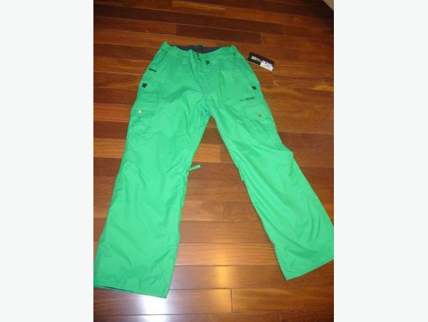 Green Snowboard Pants