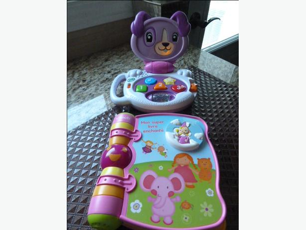 2 INTERACTIVE BABY TOYS IN FRENCH