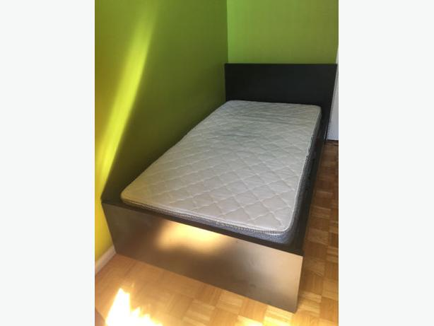 Modern Twin Bed with Mattress