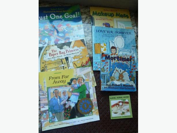 Collection of Robert Munsch Books