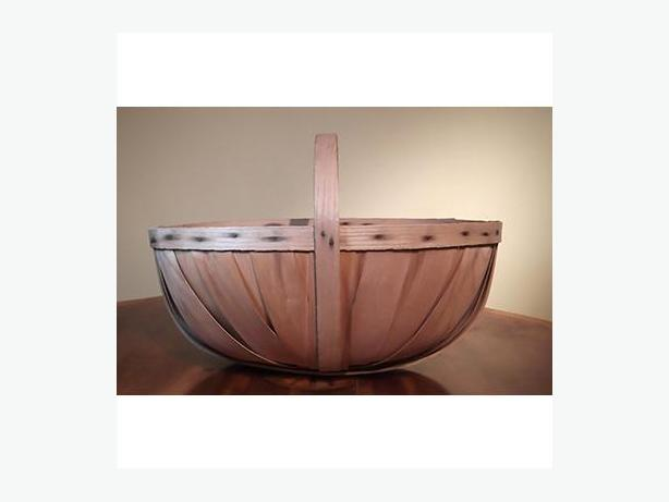 Vintage Splint Apple Basket