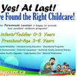 Yes! At Last! You Have Found the Right Childcare!