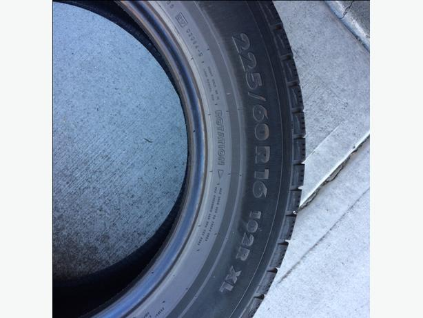 four Nokian Winter Tires