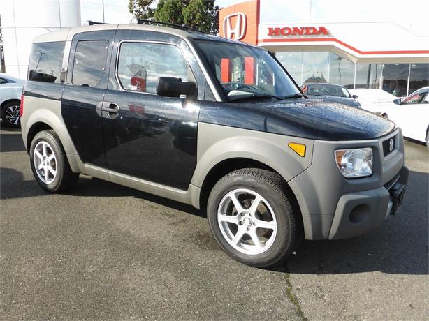 2003 Honda Element Manual 2WD