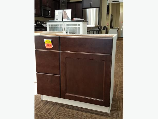 Bathroom Vanity Cabinet 33 Wide At Diy Cabinet Warehouse Central Regina Regina