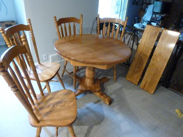 Solid Maple Dinette Set