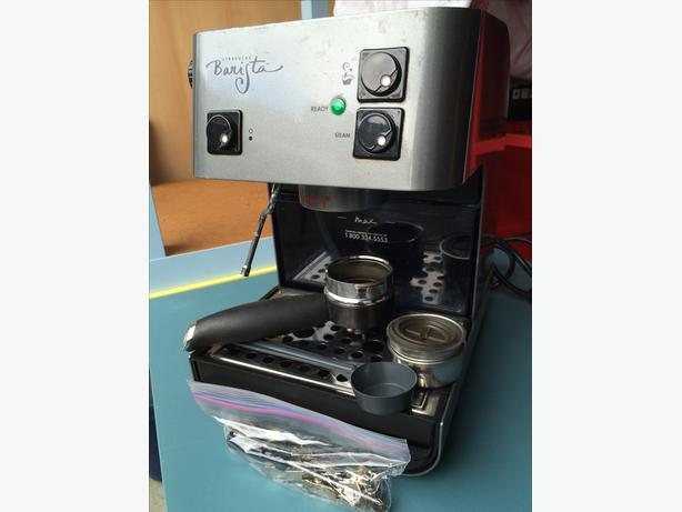 Saeco-Starbucks Barista Espresso Cappuccino Machine