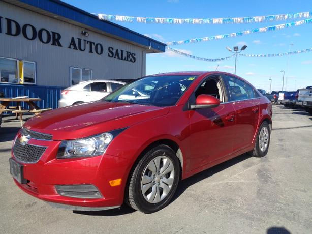 2014 Chevrolet Cruze LT #I5306 INDOOR AUTO SALES WINNIPEG
