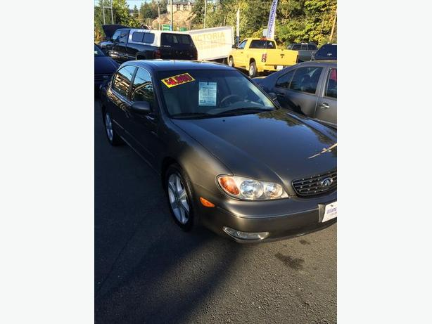 Clearance Sale 2002 Infinity i35 Luxury 182 k $4990 Sale Priced Williams Colwood