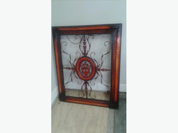 "Large  Hanging  Frame metal  art  41"" wide X 51"" high"