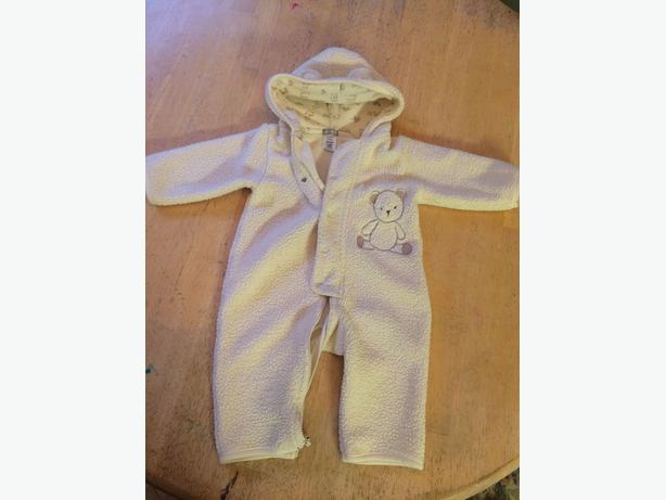 Carters warm one piece jump suit / body suit 9 months