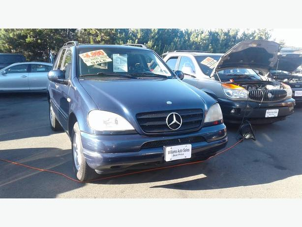 ON SALE  2001 Mercedes ML320 Blow Out Price Was 6980 NOW $4980