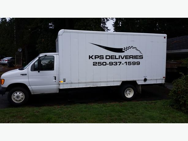 KPS DELIVERIES - West Coast Deliveries and in town Nanaimo deliveries