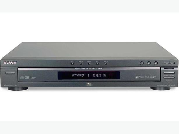 SONY 5 Disc CD/DVD Player