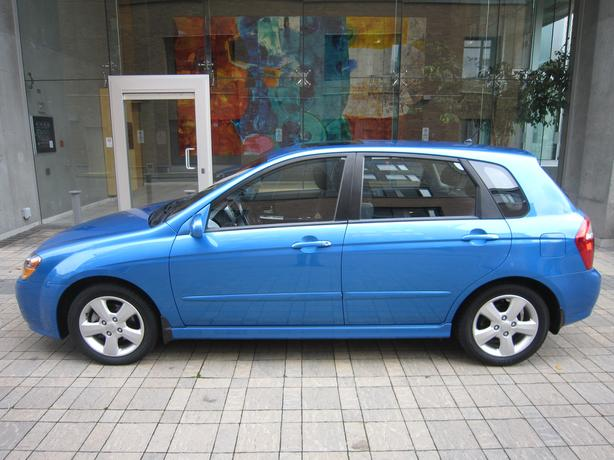 2007 Kia Spectra 5 SX - ON SALE! - LOCAL VEHICLE! - NO ACCIDENTS!