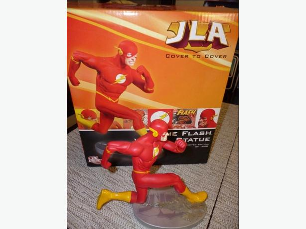 JLA Cover to Cover series - The Flash