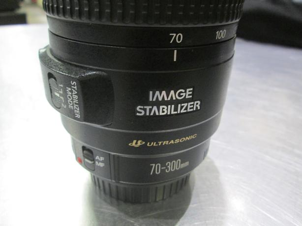 CANON 70-300MM IMAGE STABILIZER LENS **MONEYMAXX**