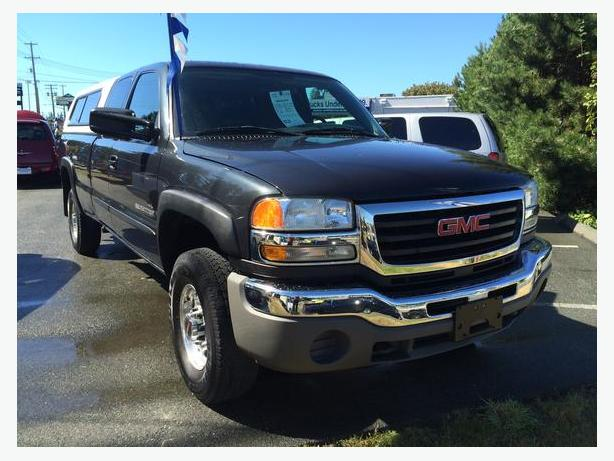 04 GMC SIERRA EXT CAB LONG BOX  2whldrv HD 184K WILLIAMS AUTO 778 265 8689