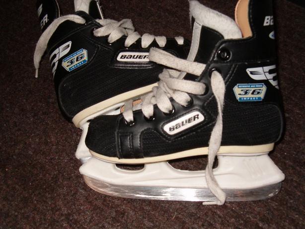skates , kid's  youth  hockey skate ,