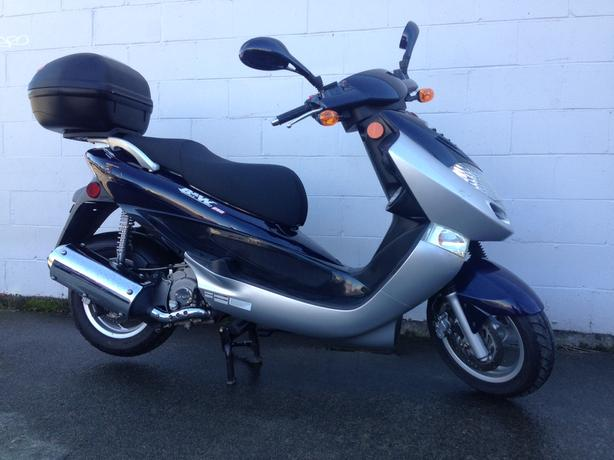 2008 Kymco Bet & Win Scooter 250cc Motorcycle
