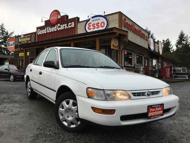 The cleanest, nicest 1997 Toyota Corolla you will ever find!