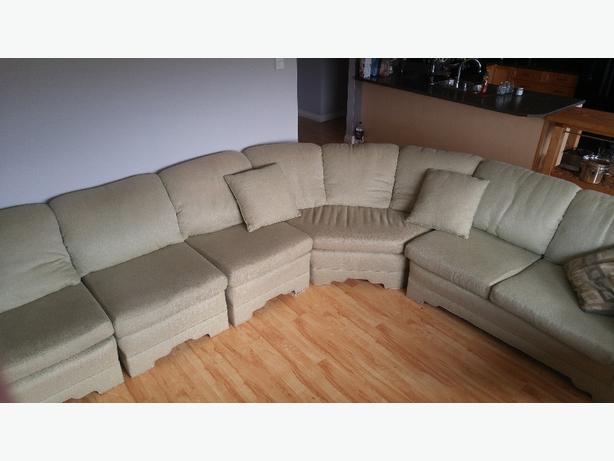 5 piece sectional Mint