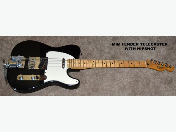 FENDER TELE with B BENDER