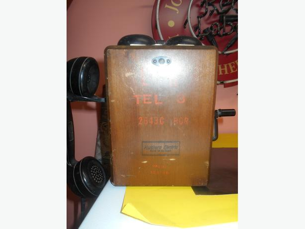 Antique Nothern Electric Box Phone. Offers always welcome
