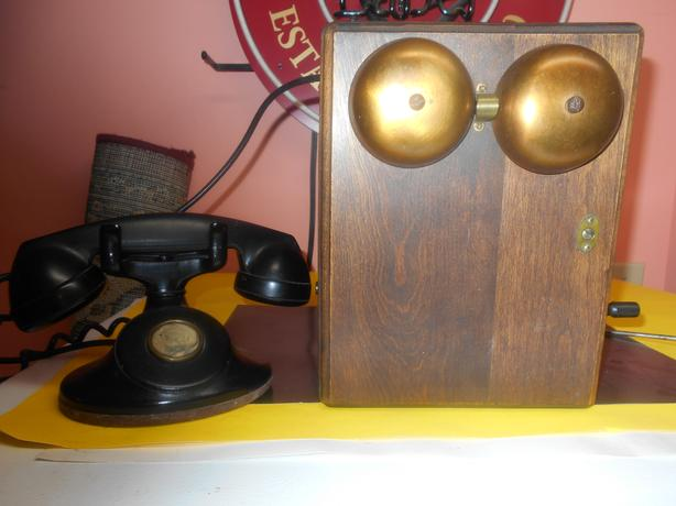 Antique Phone and Box. Offers always welcome