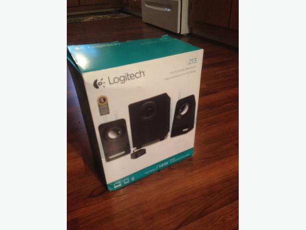 Logitech 2.1 Computer speakers